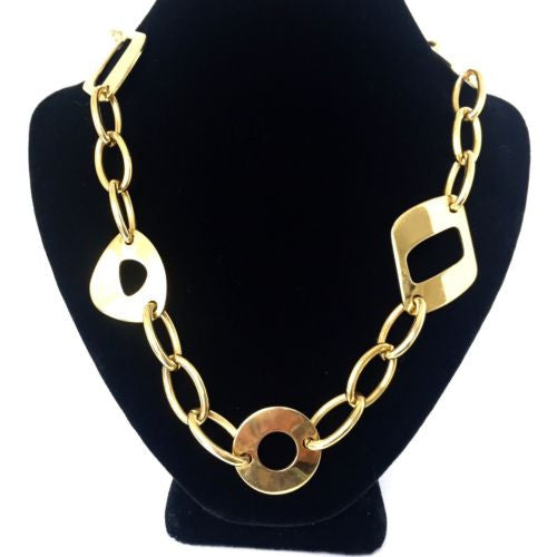Beautiful NECKLACE 18 inches Long 64g T-Bar Fastening.