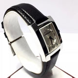 MONTBLANC Stainless Steel Ladies Watch 30M Water Res. Original Leather Band