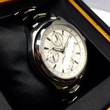 TAG HEUER LINK Stainless Steel Men's Watch 200m Water Resistant Tachymeter