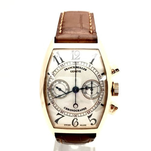 Collectable FRANCK MULLER MASTER OF COMPLICATIONS 18K Solid Rose Gold Men's Watch