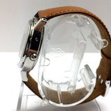 HERMÈS Stainless Steel Automatic Unisex WATCH w/ Skeleton Back Case In Box