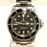 ROLEX OYSTER PERPETUAL SUBMARINER Men's Watch No Date Serif Dial