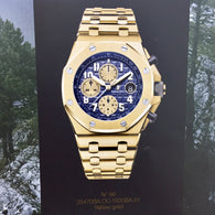 New Audemars Piguet Royal Oak Offshore Chronograph Limited Edition Yellow Gold  Men's Watch. 42mm