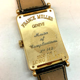 FRANCK MULLER MASTER OF COMPLICATIONS LONG ISLAND 18K Yellow Gold Men's Watch