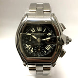 CARTIER ROADSTER Chronograph Tachymeter Automatic Steel Men's Watch
