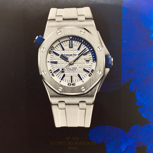 New Audemars Piguet Royal Oak Offshore Diver Men's Watch 42mm