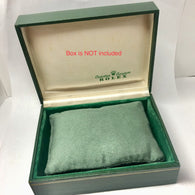 New Hand Made Green Faux Suede PILLOW CUSHION fits ROLEX Watch Box