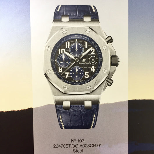 New Audemars Piguet Royal Oak Offshore Chronograph Men's Watch. 42mm.