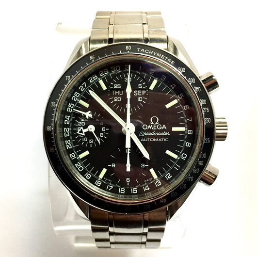 OMEGA SPEEDMASTER Chronograph Tachymeter Automatic Stainless Steel Men's Watch