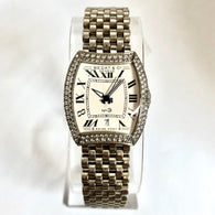 BEDAT & Co. No 3 18K White Gold FACTORY DIAMONDS Ladies Watch
