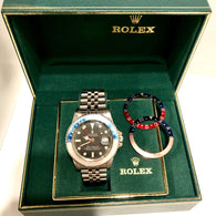 ROLEX OYSTER PERPETUAL DATE GMT-MASTER Steel Men's Watch