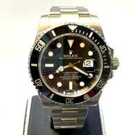 ROLEX OYSTER PERPETUAL DATE SUBMARINER 1000ft=300M Men's Watch