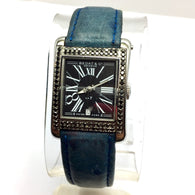 BEDAT & CO No 7 Automatic Stainless Steel Ladies Watch w/ BLACK FACTORY DIAMONDS & Azur Band