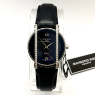 New RAYMOND WEIL OTHELLO Steel Ladies Watch Factory Diamonds Blue Dial