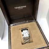 TOURNEAU Quartz Steel Mens/Unisex Watch White Dial