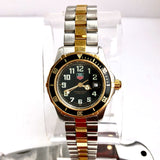 TAG HEUER Professional 200M Date 18K Gold-Plated & Steel Ladies Watch