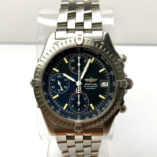 BREITLING BLACKBIRD Special Series Automatic Chronograph Tachymeter Steel Men's Watch