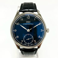 New IWC SCHAFFHAUSEN 44mm Automatic Steel Men's Watch Box & Papers