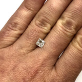 GIA CERTIFIED Natural Square Modified Brilliant DIAMOND 0.81 Carat F VS1