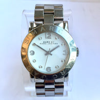 MARC by MARC JACOBS Stainless Steel Ladies Watch with Crystals, Water Resistant