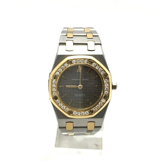 AUDEMARS PIGUET ROYAL OAK 26mm 18K YG & Steel Ladies Watch