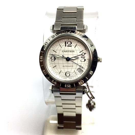 PASHA de CARTIER Automatic Steel Men's/Unisex Watch