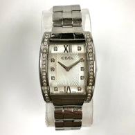 EBEL TARAWA Quartz 28mm Steel Ladies Watch FACTORY Diamonds MOP Dial