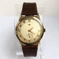 LONGINES-WITTNAUER Hand-Winding 10K Gold-Filled & Steel Men's Watch 17 Jewels