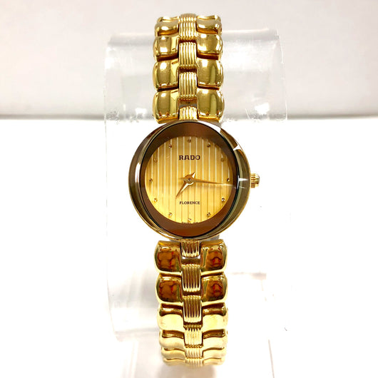 RADO FLORENCE Quartz Gold Electroplated & Steel Ladies Watch