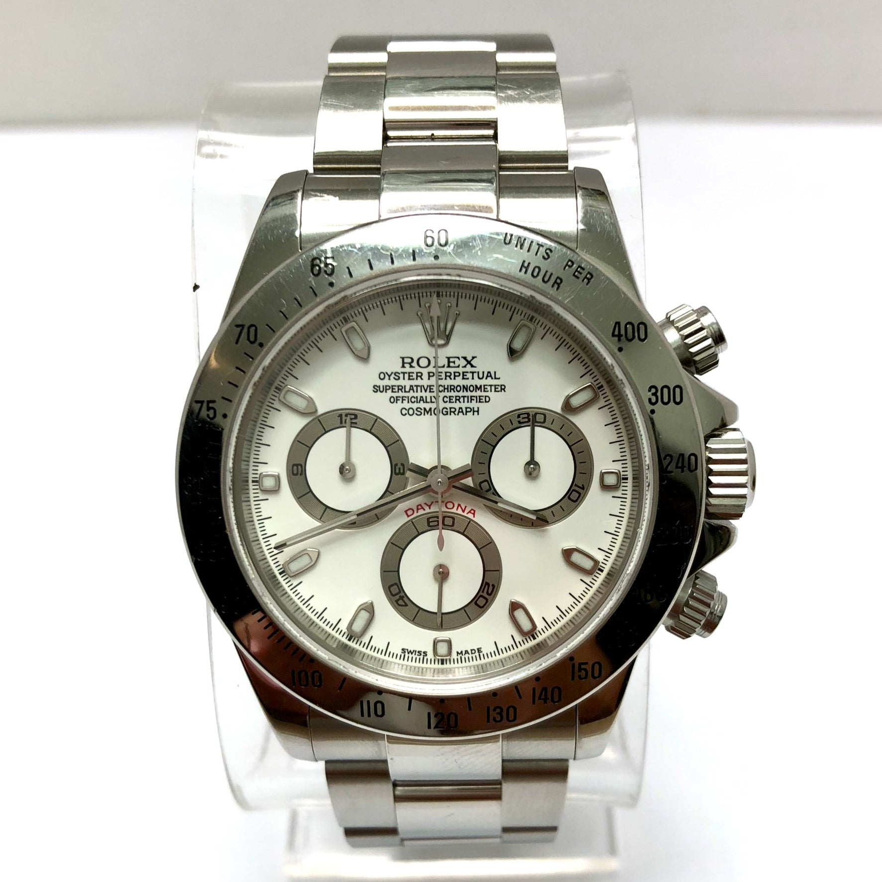ROLEX OYSTER PERPETUAL COSMOGRAPH DAYTONA Stainless Steel Men\u2019s/Unisex Watch