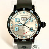 CHRONOSWISS Automatic 44mm Steel Men's WATCH Rubber Band