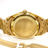 JULES JURGENSEN Day Date Quartz 14K Gold Men's/Unisex Watch FACTORY DIAMONDS