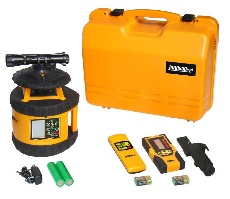 Johnson - 40-6580 Rotary Laser Level