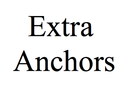 Extra Set of Anchors