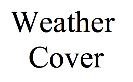 Weather Cover (ABS-13H-30H)