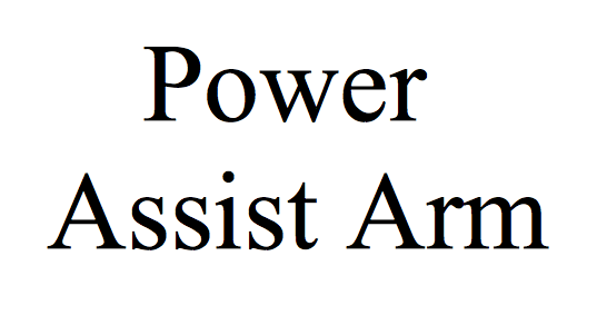 Power Assist Arm