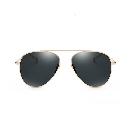 Single Bridge Teardrop Aviator Sunglasses