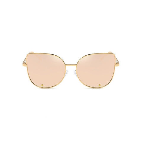 【Lux Collection】High Fashion Cat Eye Silhouette Sunglasses
