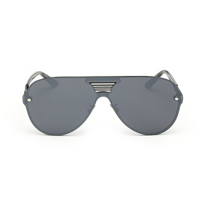 Sleek Modern Aviator Shield Sunglass