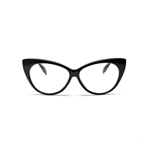 Vintage Cat Eye Fashion Clear Lens Frame