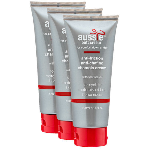 aussie butt cream 100 ml tube 3 set
