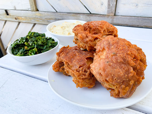 Southern Fried Chicken Dinner (serves 2)