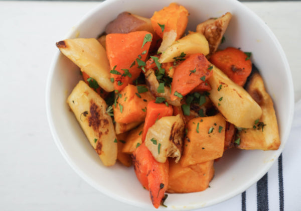 Roasted Root Vegetables - 1 Quart (3-4 servings)