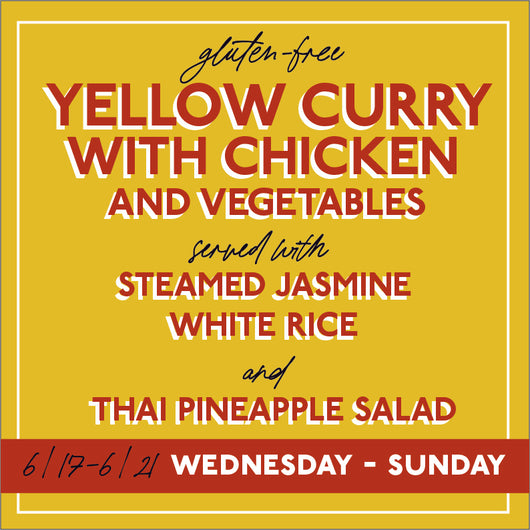Thai Yellow Curry Chicken (serves 2)