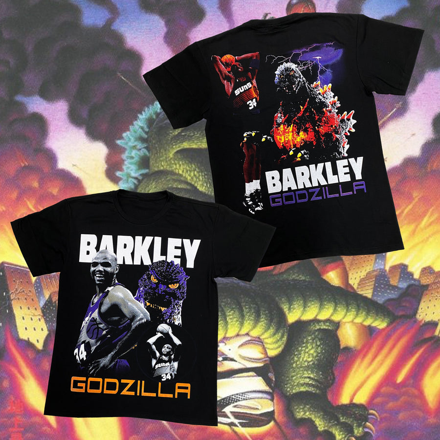 Barkley vs Godzilla Vintage T-Shirt