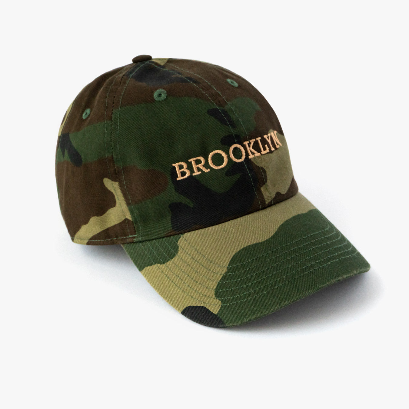 Posh Dad Hat Brooklyn Camo