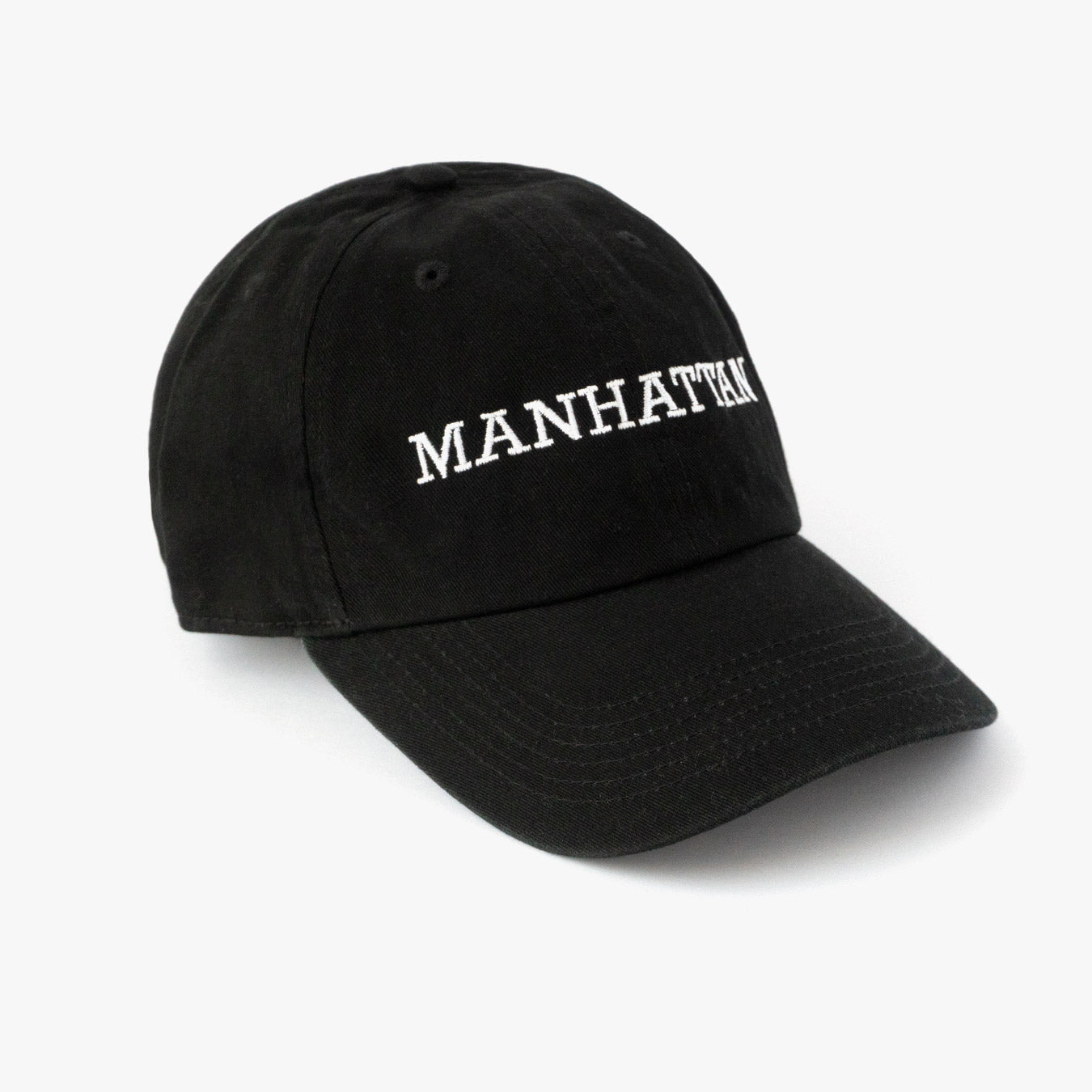 Posh Dad Hat Manhattan Black