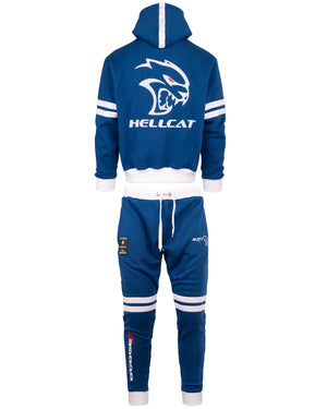Dodge Hellcat Sweatsuit Blue