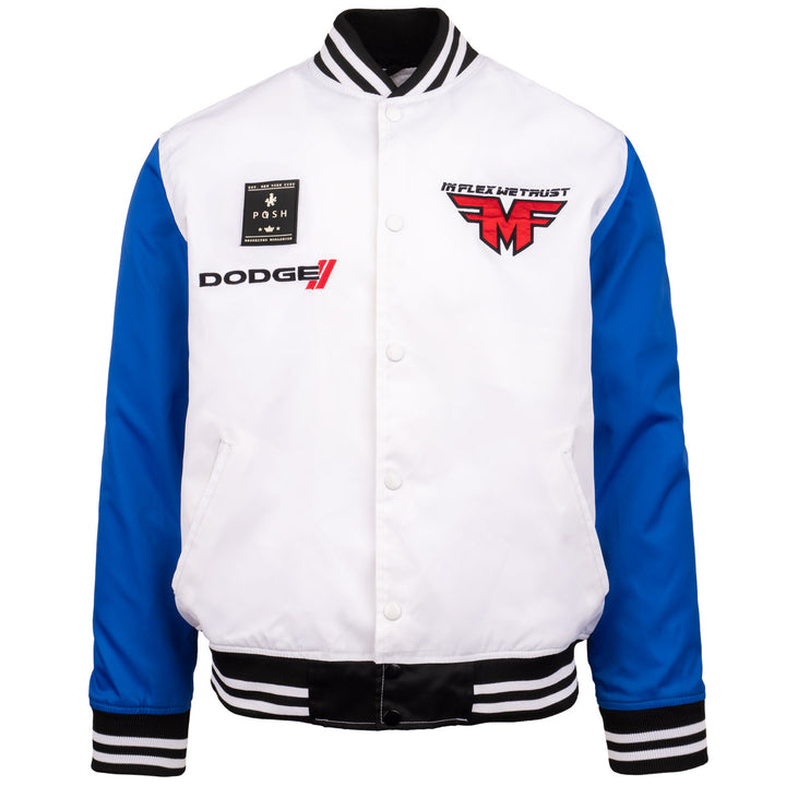 Dodge Funkflex Nylon Jacket White/Blue