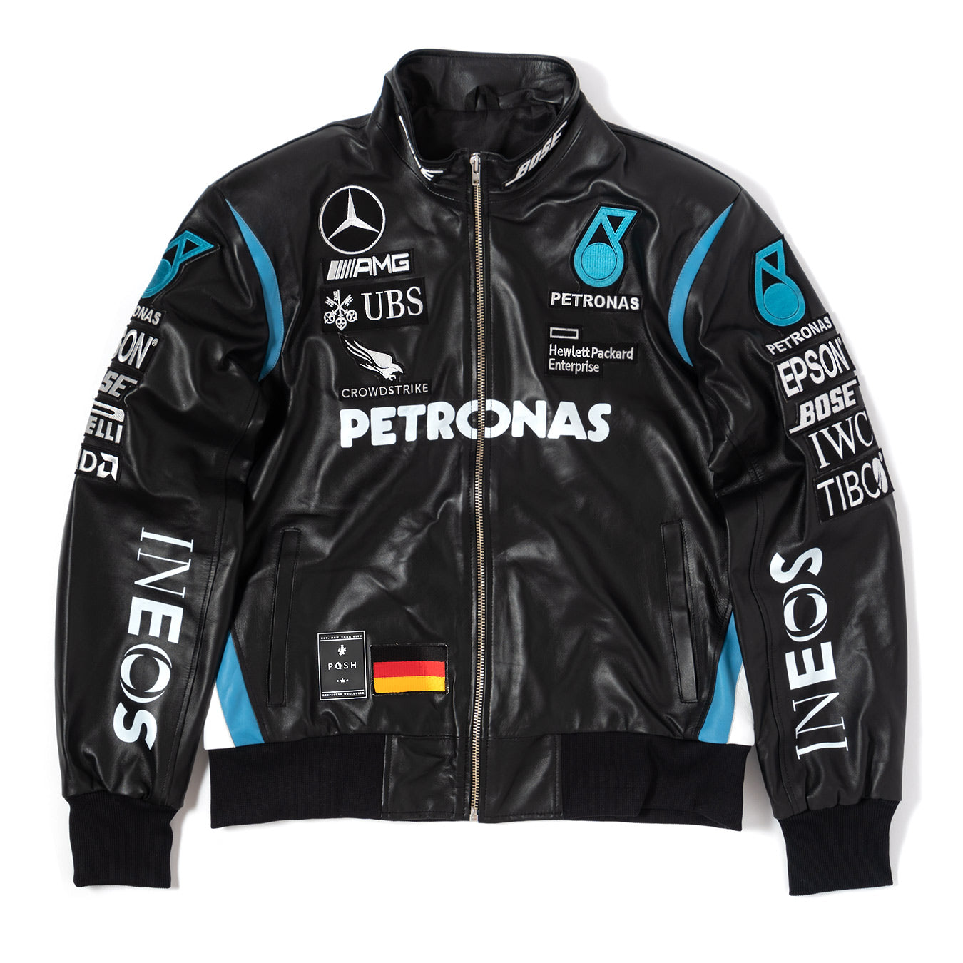 Posh Benz F1 Premium Lamb Leather Jacket